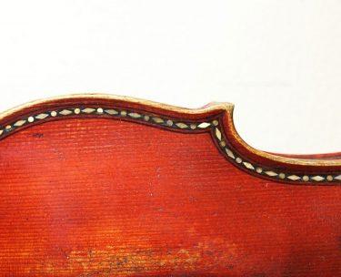 バイオリンのパフリング(象眼)加工の役割