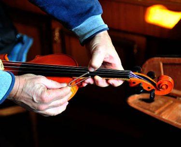 バイオリン弦のチューニング方法【音あわせのやり方教えます】