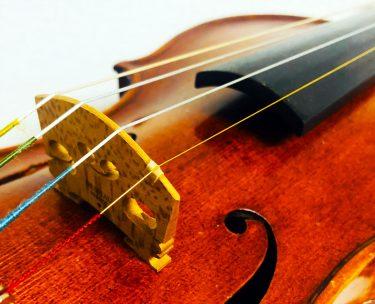 バイオリンのE弦が金色のものは音が良いのか?違いを比較解説