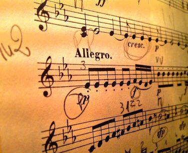 バイオリンなど楽器を歌うように奏でて楽譜通りに演奏しない表現について