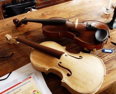 バイオリンのニスが剥がれたら、どうすればいい?