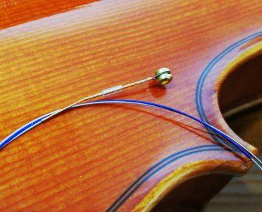 バイオリンのe弦に付いてるチューブは使うべき?外すべき?