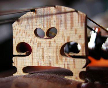 バイオリンの駒の位置は自分で動かしてよい?