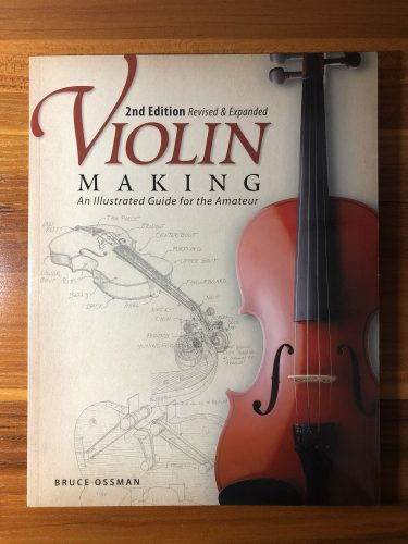 書籍紹介「Violin Making An illustrated Guide for the Amateur」書評レビュー